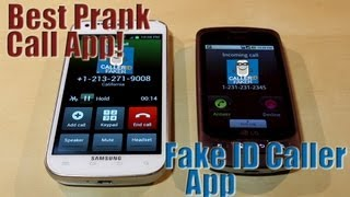 How to call someone as a different number fake idcaller app