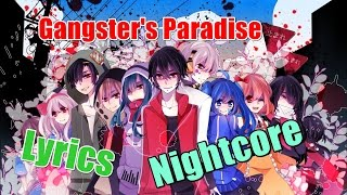 Nightcore - Gangster's Paradise [Rock Cover]