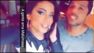 Anitta canta e dança Reggaeton | Borro Cassette - Maluma (Snapchat)