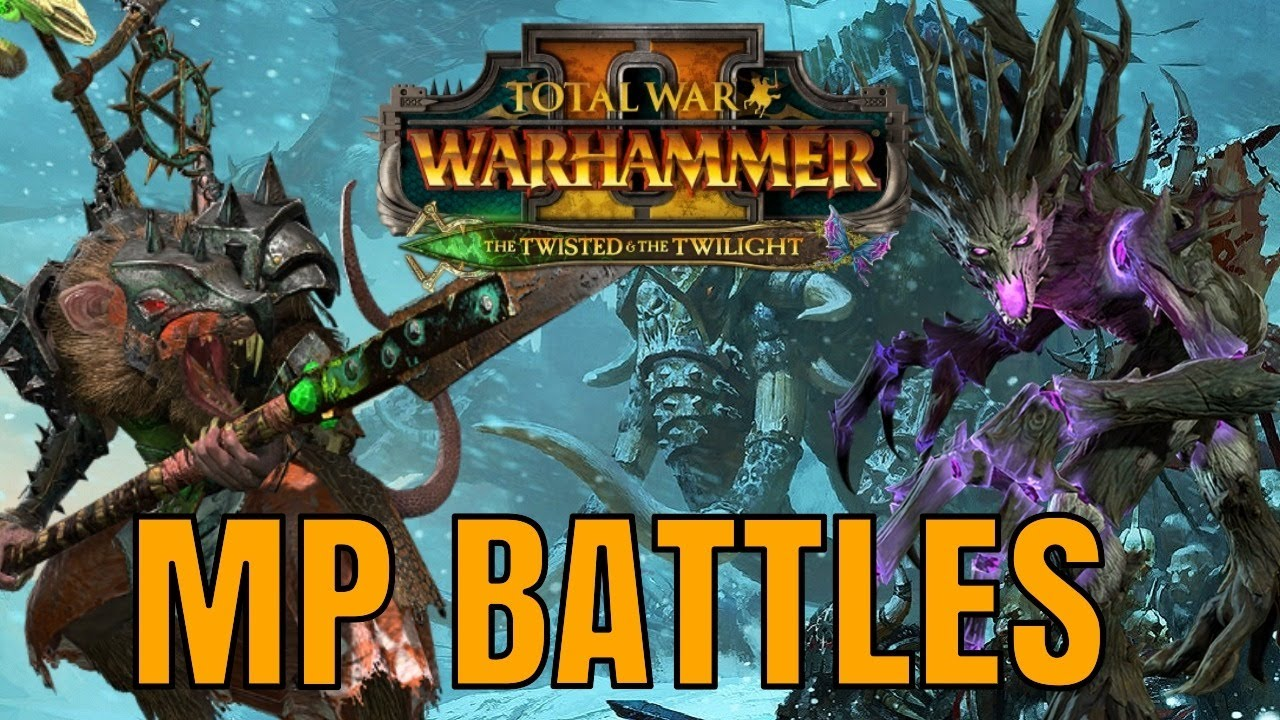 Turin - The Twisted & The Twilight Battles   Skaven Chieftain, Drycha & More! Total War Warhammer 2