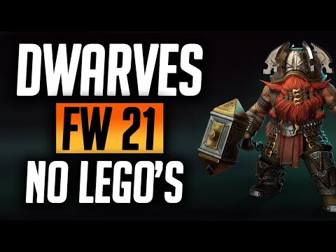 How to beat Dwarves Faction Wars *No Lego's* | Raid: Shadow Legends