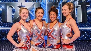 Aquabatique synchronized swimmers - Britain's Got Talent 2012 Final - UK version