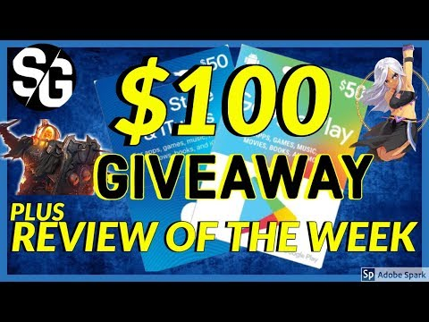 [STEWGAMING] $100 GIVEAWAY + WEEK IN REVIEW