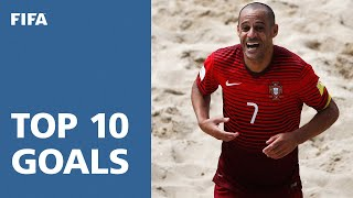 TOP 10 GOALS: FIFA Beach Soccer World Cup Portugal 2015 width=