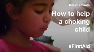 Children First Aid: Choking child