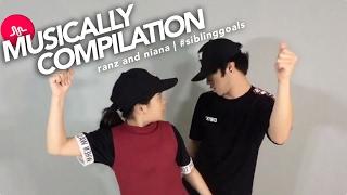 Siblings Musically Compilation | Ranz and Niana