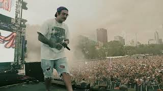 "Getter playing Xxxtentacion ""Yung Bratz"" in Lollapalooza Chicago 2017"