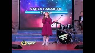 Carla Paradiso in 'caruso' al New Talent Tv 13^ puntata 2015