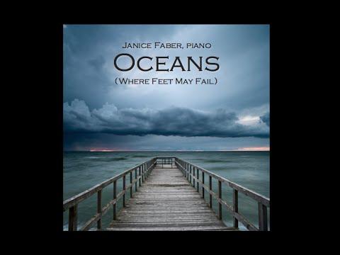 Oceans Where Feet May Fail Piano Inst With Lyrics Sheet Music