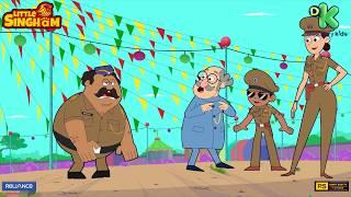 Hawaldaar Karate Funny Moments: Part 4 | Little Singham | Discovery Kids | Kids Cartoon