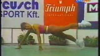 European Aerobic Championship 1994 Carmen Valderas Spain