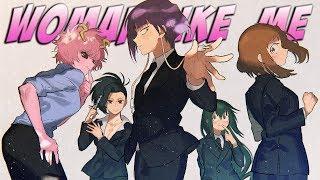 Nightcore -  Woman Like Me (Switching Vocals/lyrics)