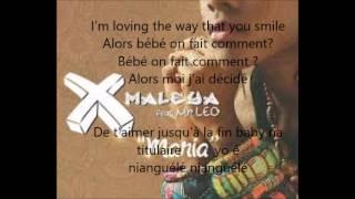 X maleya ft Mr Leo   Maria Lyrics