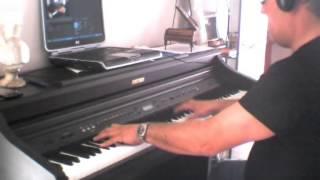 Alex Ubago - Aunque no te pueda ver (piano cover)