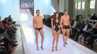 White hot Gomes steps out of Kerr's glow at David Jones Spring Summer 2014 launch
