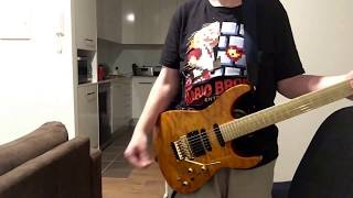 Queen - Play The Game Guitar Solo Cover by Nathan Wolfgram
