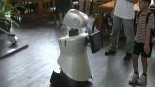Taiwan University students build tour guide robot