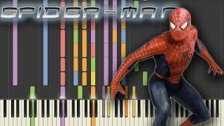 Spider-Man (2002) main theme using only piano