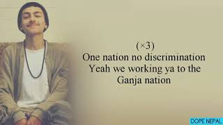 One nation no discrimination ..