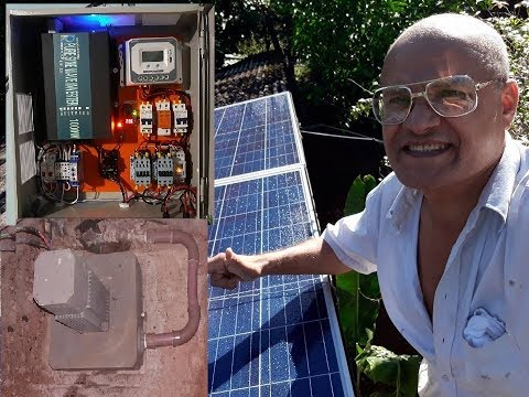 Foi preso agricultor professor pardal teria inventado a única mini Usina PCH Hidrelétrica do mundo!