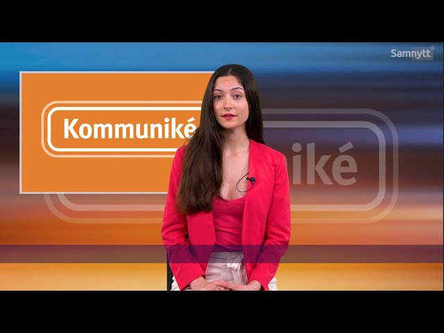 Kommuniké - Veckans Nyheter - 21/11 2020
