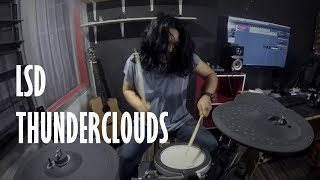 LSD - Thunderclouds ft. Sia,Diplo,Labrinth | Drum Cover by zyjado