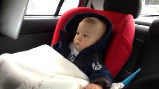 Aleksa watching Baby TV - Billy Bam Bam