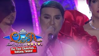 It's Showtime Miss Q & A Grand Finals: Chad Kinis Lustre-Reid answers the final question