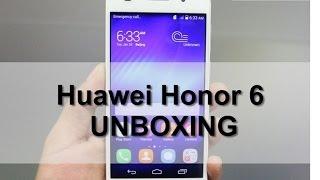 Huawei Honor 6 فتح صندوق ونظره سريعه على هاتف