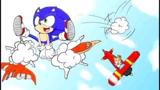 Sonic The Hedgehog 2 - Sky Chase Zone Jazz Remix