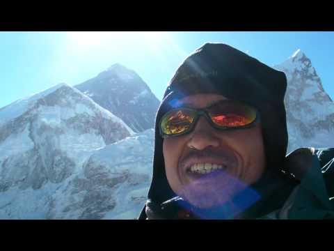 エベレスト最高!! カラパタールに・・・  Mt.Everest View from Kala Patthar