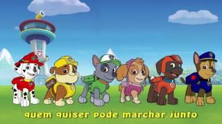 Patrulha Canina marchando - Música Marcha Soldado