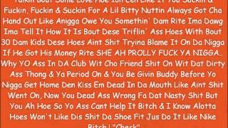 """Khia- Trust No Nigga """"Remix"""" Snatcha O'beast & 2u Real- Hoes Aint Shit"""