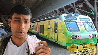 Buying Luxury Train Ticket Mumbai AC Local (Poor vs Rich) - Social Experiment | TamashaBera width=