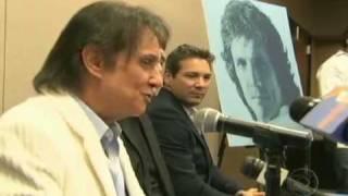 Roberto Carlos chora a morte de Lady Laura.mp4