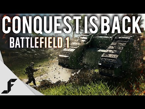 WTFF::: CONQUEST IS BACK - Battlefield 1 Beta Changes