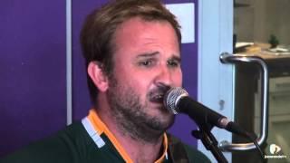 Robbie Wessels sings, Fikile Mbalula, on MBD