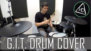 GIT - Tarado de cumpleaños - Drum cover