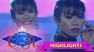 It's Showtime Miss Q & A Resbek: Elsa Droga's different facial reactions
