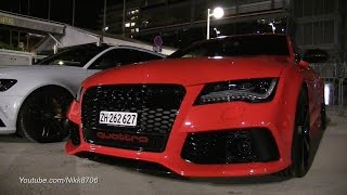Straight piped Audi RS7 - Pure sound