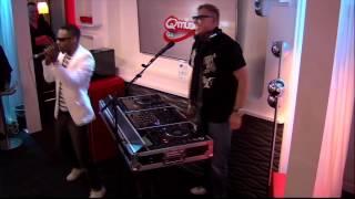Pat Krimson vs Ice MC - It's A Rainy Day (live bij Q)