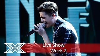 Ryan Lawrie sings Stevie's Superstition | Live Shows Week 2 | The X Factor UK 2016