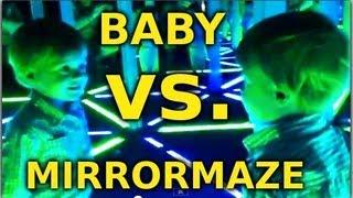 Baby in a Mirror Maze