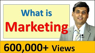 1. What is Marketing - Marketing Management Video Lecture by Prof. Vijay Prakash Anand