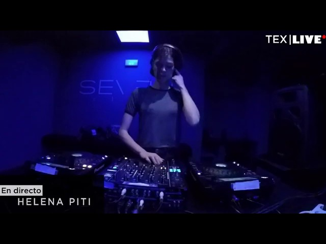 Video en directo de Helena Piti para Technoexperience Live, Seven Club (2017)
