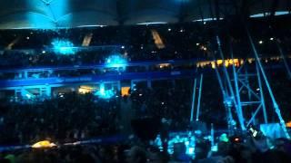 Take That live in Hamburg Robbie Williams singing Angels