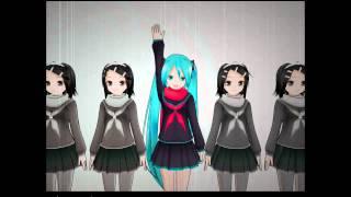 Hatsune Miku- Rolling Girl [MMD PV]