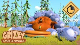 20 minutes de Grizzy & les Lemmings // Compilation #01 - Grizzy & les Lemmings width=