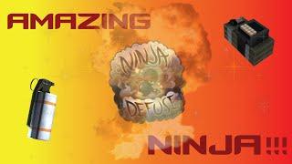 INSANE Ninja Defuse!