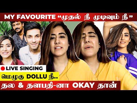 அந்த Song என்னோட Golden Days Memory-ய.. | Play Back Singer Jonita Gandhi Interview | Chellamma Song